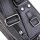 Шкіряна сумка на пояс 7352A, фото 5