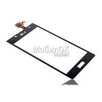 Сенсорный экран для LG P700/P705 Optimus L7 черный High Copy