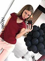 Модная блузка с чокером