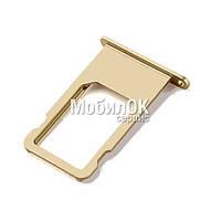 Держатель SIM-карты для Apple iPhone 6S Gold