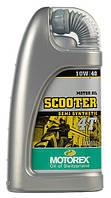 Полусинтетическое моторное масло для скутеров MOTOREX SCOOTER 4T SAE 10W/40