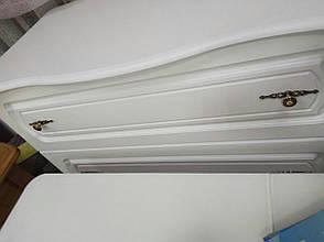 Комод высокий белого цвета Блюз  Модуль Люкс ,белый, фото 2