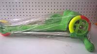 Детский трехколесный самокат 164 в.2 Орион, салатовый
