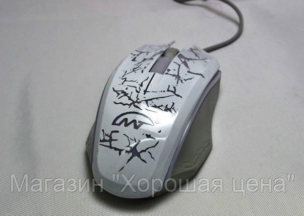 Мышь компьютерная проводная XG73 с подсветкой USB, фото 2