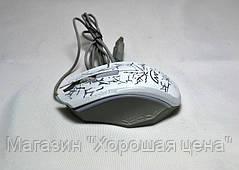 Мышь компьютерная проводная XG73 с подсветкой USB, фото 3