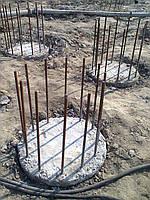 Устройство буронабивных свай диаметром 600 мм
