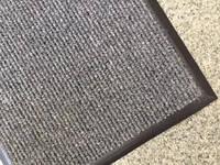 Грязезащитный ковер придверный серый 575х385