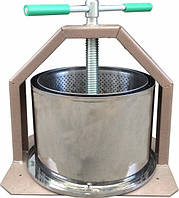 Пресс для сока из нержавейки ЛАН (10 л)