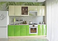 Кухня ваниль-эвкалипт NEW