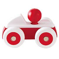 Деревянная игрушка Hape Машинка Красная (E0064)