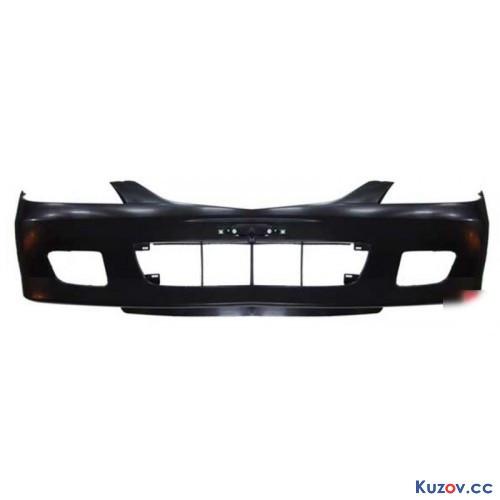 Передний бампер Mazda 323 01-03 черный, кроме RS (FPS) FP 4404 901