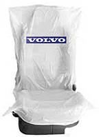 Чехлы накидки 250 шт. на  сидения  полиэтиленовые,  одноразовые  с логотипом  VOLVO