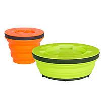 Набор складной посуды Sea To Summit XSeal & Go Set S lime