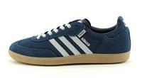 Мужские кроссовки Adidas Samba Dark Blue