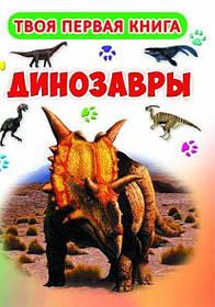 Твоя первая книга. Динозавры.