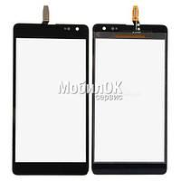 Сенсорный экран для Microsoft (Nokia) 535 Lumia Dual SIM черный (CT2C1607FPC-A1-E)
