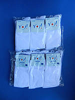 """Носки (28-30 размер) Белые хлопок """"YO SCORPIO"""" для мальчиков Польша"""