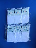 """Носки (34-36 размер) БЕЛЫЕ однотонные хлопок для мальчиков """"YO SCORPIO"""" Польша"""