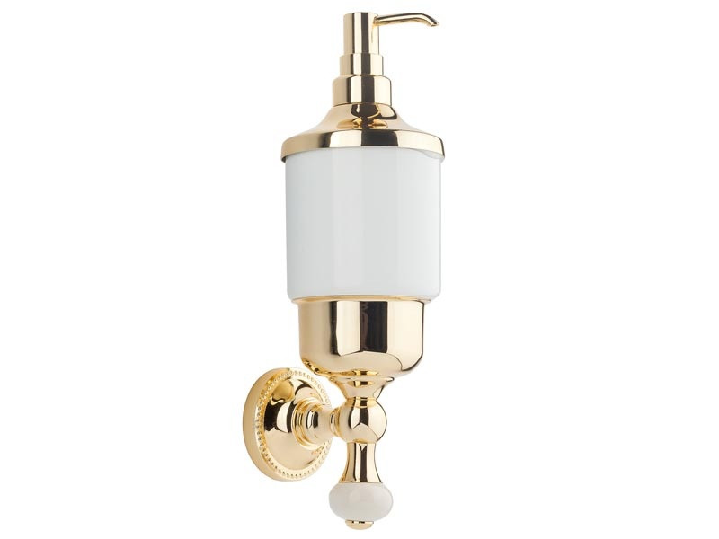 Дозатор для жидкого мыла Kugu Pan 014G, золото