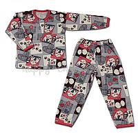 Пижама комбинированная на 2-х кнопках Виктория Стиль