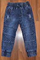 ДЖИНСОВЫЕ брюки- ДЖОГГЕРЫ для мальчиков ,.Размеры 4-12.Фирма S&D.Венгрия, фото 1