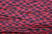 Тесьма ПЭ 12мм (100м) т.синий+красный, фото 1