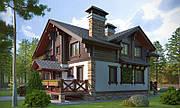 Строительство домов из кирпича и профилированного бруса