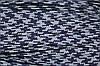 Тесьма ПЭ 12мм (100м) т.синий+св.серый