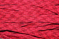 Тесьма ПЭ 12мм (100м) красный+бордовый