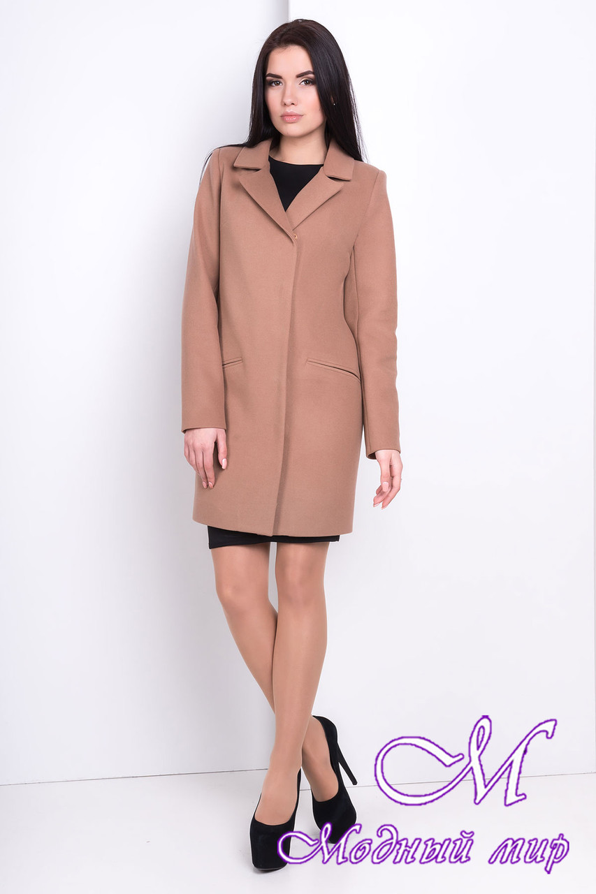 Женское осеннее кашемировое пальто (р. S, M, L) арт. Ками 9754