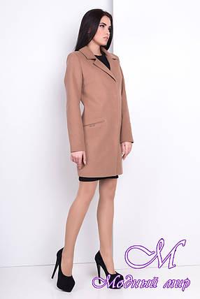 Женское осеннее кашемировое пальто (р. S, M, L) арт. Ками 9754, фото 2