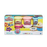 Коллекция пластилина  Play-Doh с конфетти, 6 цветов Hasbro B3423EU4