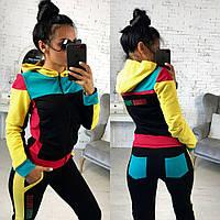 Женский демисезонный спортивный костюм №124-24 Block