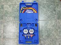 Манометрический коллектор двух  вентильный электронный VALUE VDG 2-S1 (R22..290.410.134.404.407.507)