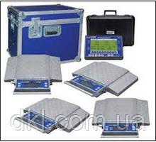 Весы подкладные автомобильные Intercomp PT300 18003-RFX Одинарные колеса, комплект из 4-х платформ
