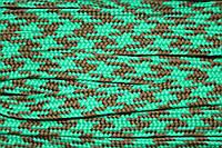Тесьма ПЭ 12мм (100м) зеленый+трава