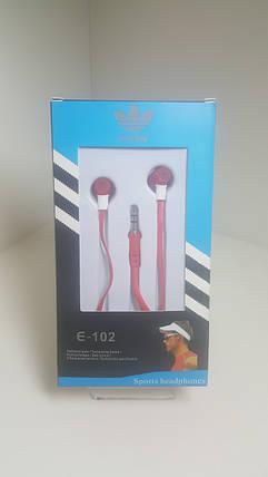Наушники Adidas E-102 (red), фото 2