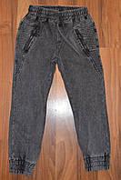 ДЖИНСОВЫЕ брюки- ДЖОГГЕРЫ для мальчиков ,.Размеры 8-16.Фирма S&D.Венгрия, фото 1