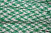 Тесьма ПЭ 12мм (100м) зеленый+белый