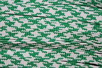 Тесьма ПЭ 12мм (100м) зеленый+белый, фото 1