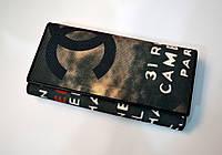 Кошелек женский тканевый СH на кнопке черный