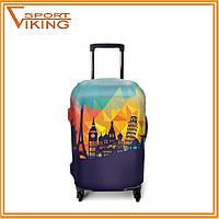 Стильные и практичные чехлы на чемоданы, размер S