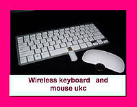 Беспроводная мини клавиатура UKC + мышь ЧЕРНАЯ.Wireless keyboard and mouse ukc!Опт