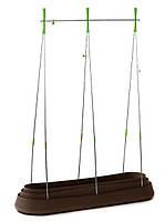 Грядка для растений G-Row с дном коричневая