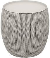 Стол-сундук KNIT (COZIES) TABLE 41 л,  серый