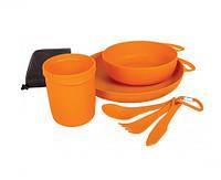 Набор пластиковой посуды Sea To Summit Delta Camp Set orange