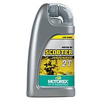 Полусинтетическое моторное масло для скутеров MOTOREX SCOOTER 2T SEMI SYNTHETIC