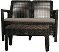 Комплект садовой мебели Tarifa lounge set, коричневый