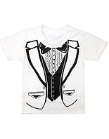 """Детская футболка для мальчика """"Жилет"""""""