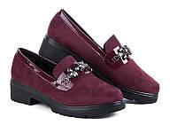 Женские туфли на низком ходу оптом от фирмы Башили YJ70-3 (8пар 36-41)